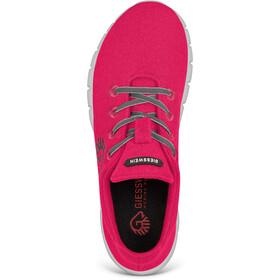 Giesswein Merino Wool Chaussures de running Femme, rubin